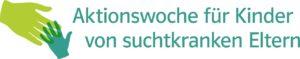 Logo Aktionswoche für Kinder von suchtkranken Eltern